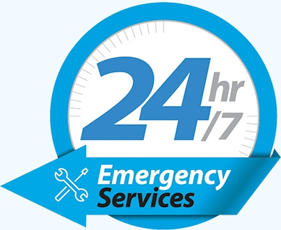 24/7 emergency garage door service